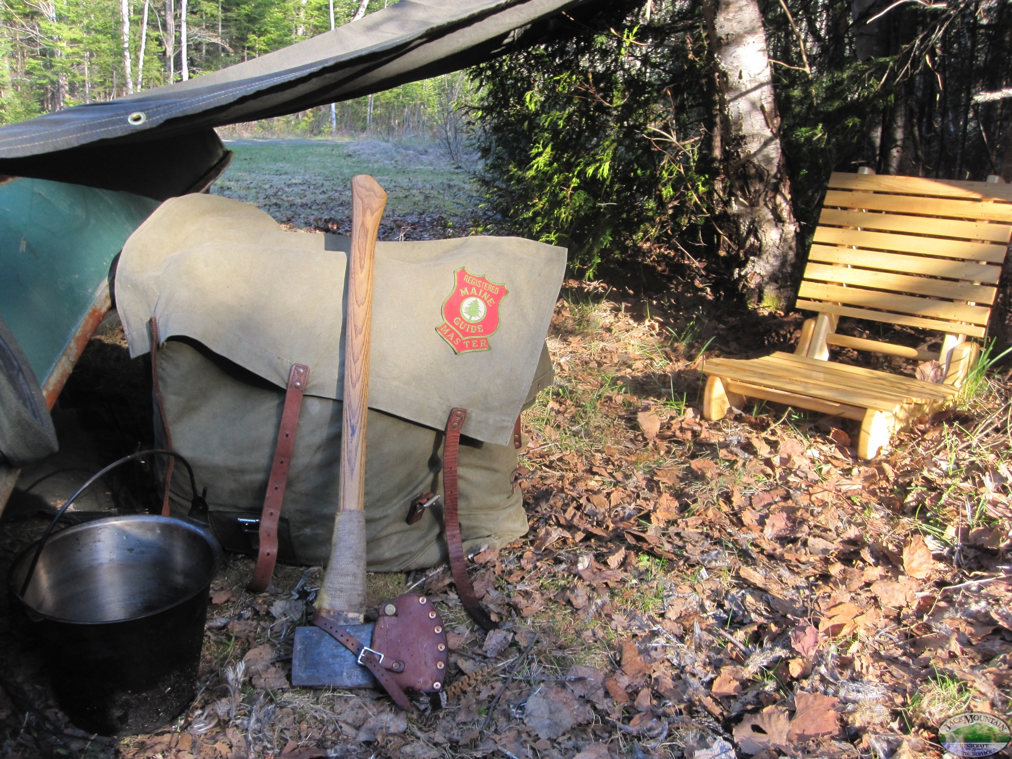 Canoe Tarp Shelter